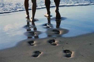 Quem está seguindo o seu caminho com você?