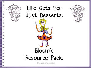 Book 5 Bloom's resource pack the world o