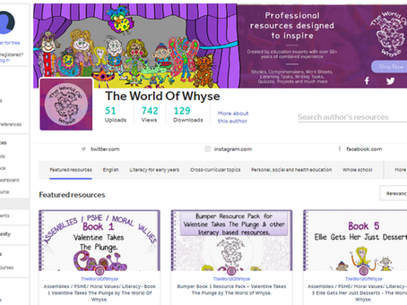 The World of Whyse TES shop is now LIVE!