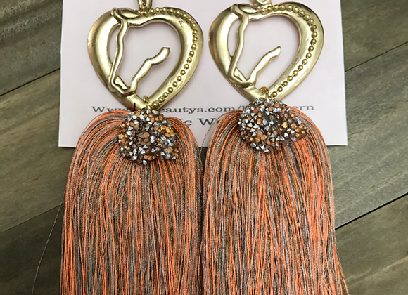 Westen Tassel Drop Earrings