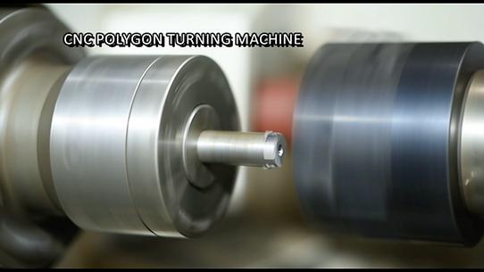 shaft milling for conveyor roller