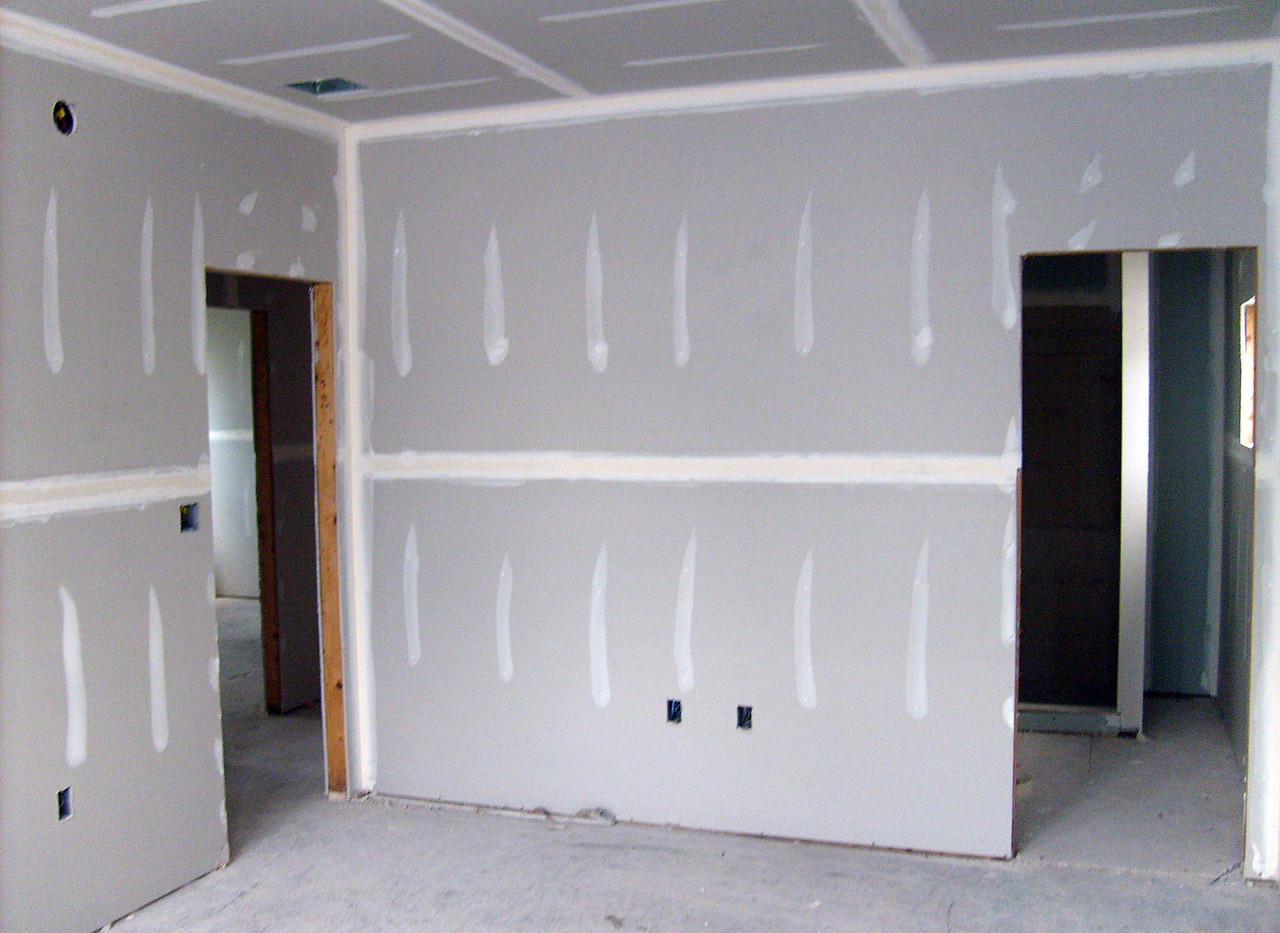 Sheetrock Installation-Post Phase 2, Pre Final