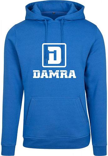 Men Hoody Logo D Damra Cobalt Blue