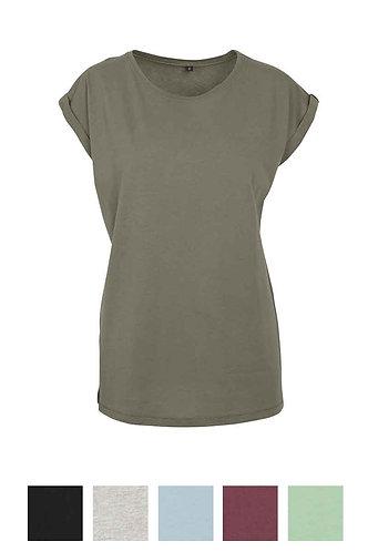 Women Extended Shoulder T-Shirt