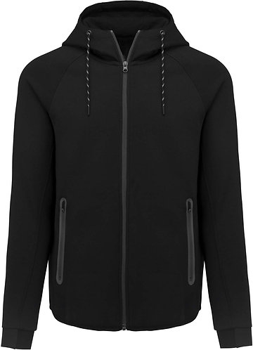 Men Functionnal Hoody Black