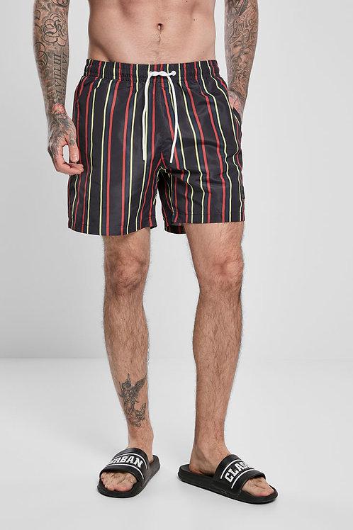 TB Stripe Swim Shorts