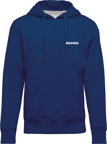 Men Organic Hooded Sweatshirt Ocean Blue