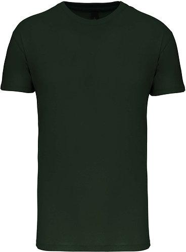 Kids Crew Neck T-shirt Forest Green