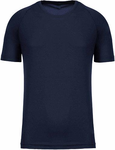 Men Sport Training Shirt Navy