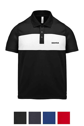 Kids Contrast Short-Sleeved Polo-Shirt
