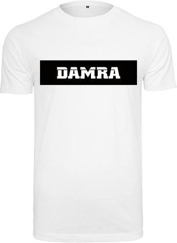 Men T-Shirt Background Long BLK white