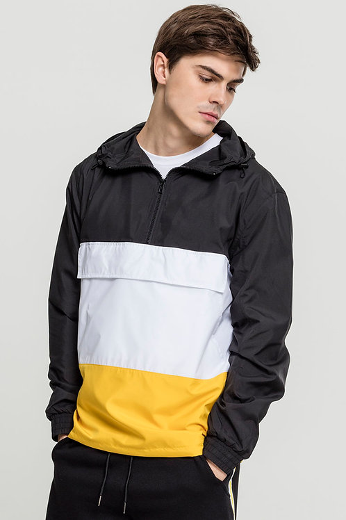 TB Color Block Pull Over Jacket
