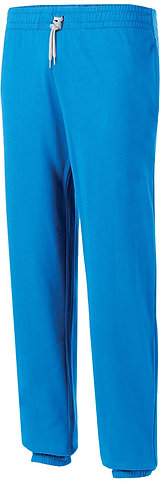 Kids Lightweight Cotton Tracksuit Bottoms Royal Blue