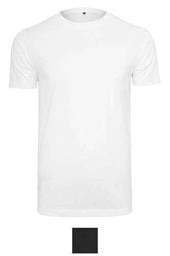 Men Clothing Organic T-shirt Round Neck