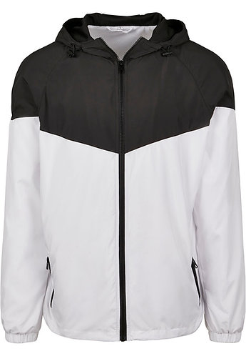 Men Two Tone Windrunner