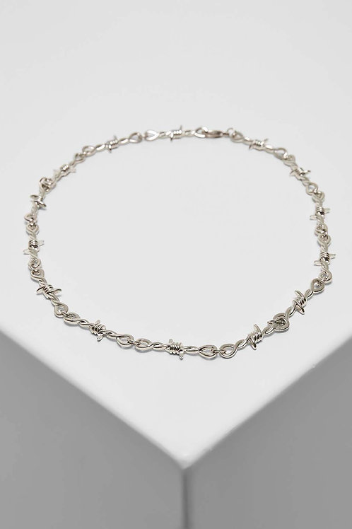 TB Barbed Wire Necklace