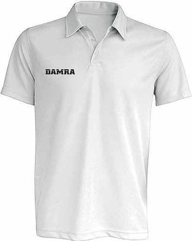 Men Polo Shirt Sport White