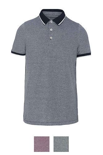 Men Two Tone Marl Polo Shirt