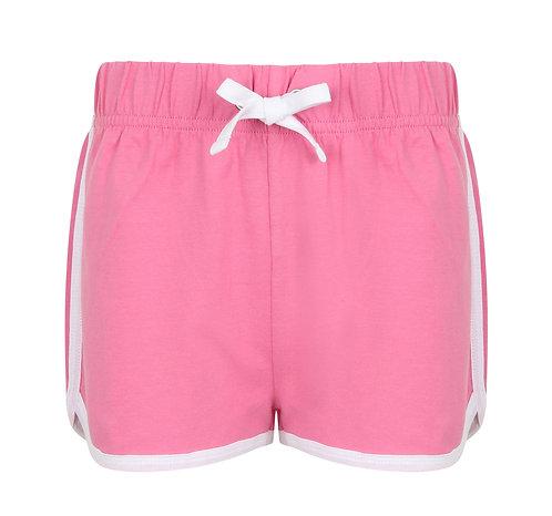 Kids Retro Short Pink