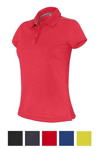 Women Short-Sleeved Polo Shirt