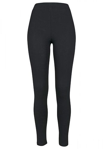 Women Stretch Jersey Leggings Black
