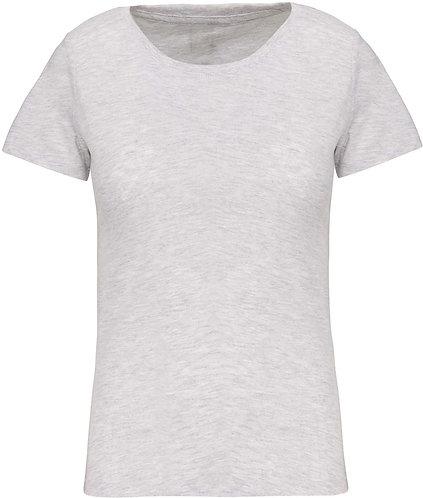 Women BIO Crew Neck T-Shirt Ash Heather