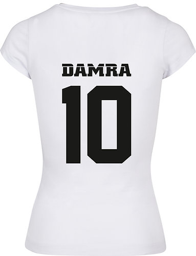 Women T-shirt Back 10 White