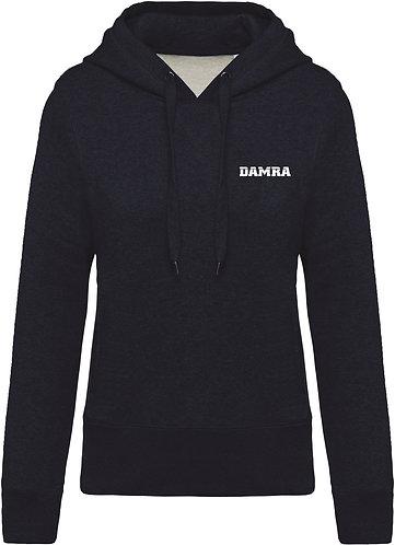 Women Organic Hooded Sweatshirt French Navy