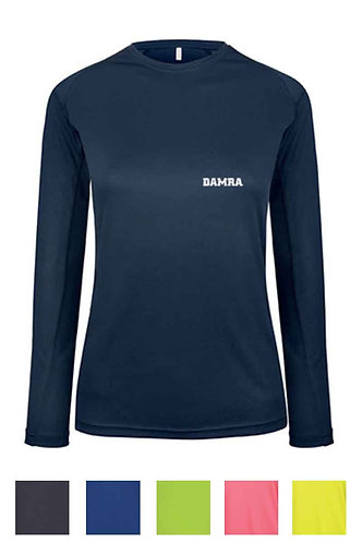 Women Long-Sleeved Sports T-Shirt