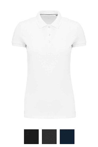 Women Supima® Short Sleeve Polo Shirt