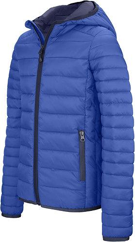 Kids Lightweight Hooded Padded Jacket Royal Blue