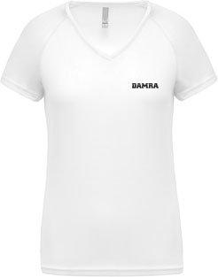 Women V-neck T-shirt Sport