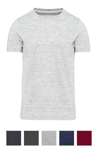 Men Short Sleeved Vintage T-Shirt