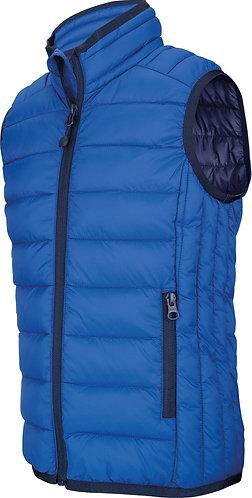 Kids Lightweight Sleeveless Padded Jacket Royal Blue