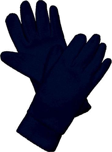 Fleece Gloves Navy