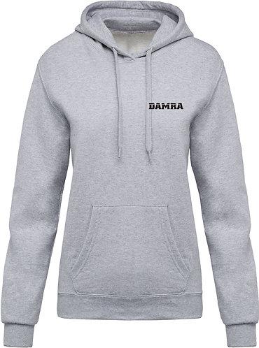 Women Hooded Sweatshirt Heather Grey