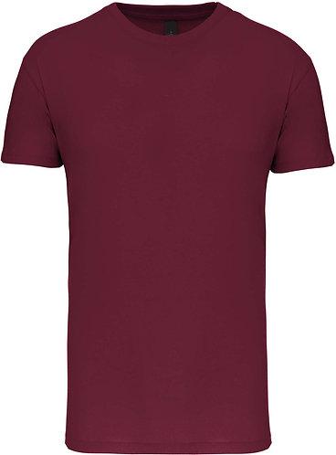 Kids Crew Neck T-shirt Wine