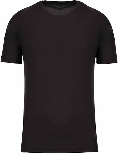 Men Sport Training Shirt Black