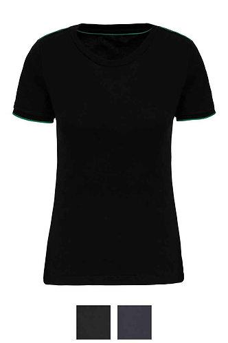 Women Short Sleeved DTD T-Shirt