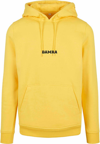Men Hoody Log Taxi Yellow