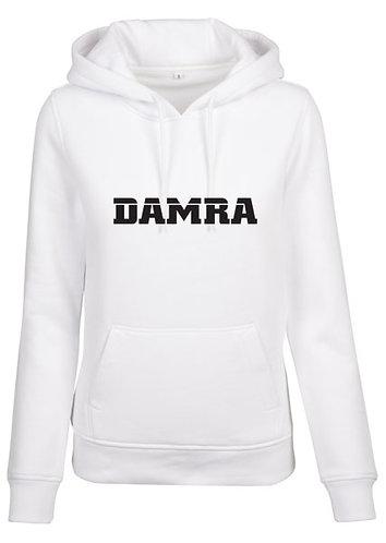 Women Damra Hoody White