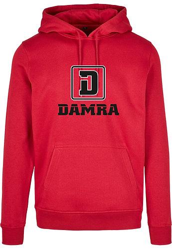 Men Hoody Logo D Damra Red