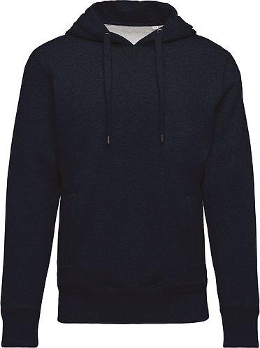 Men Organic Hooded Sweatshirt French Navy