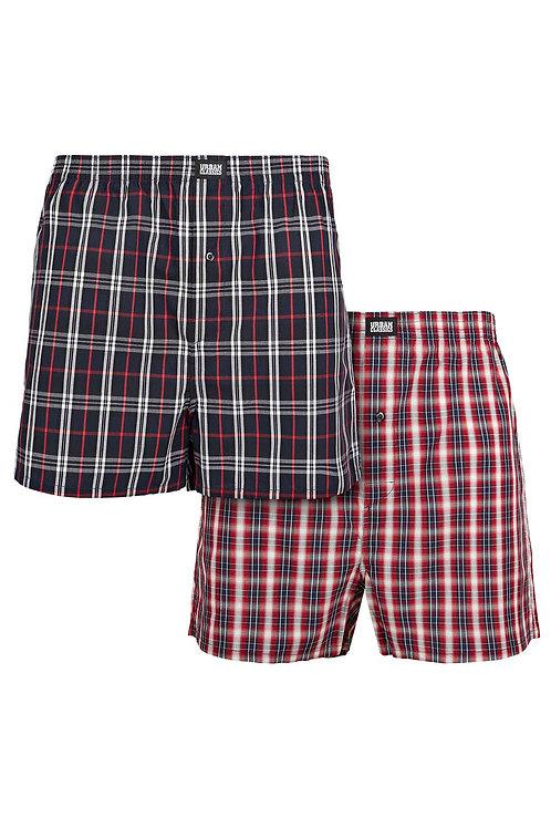 TB Woven Plaid Boxer Shorts 2-Pack