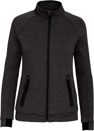 Women High Neck Jacket