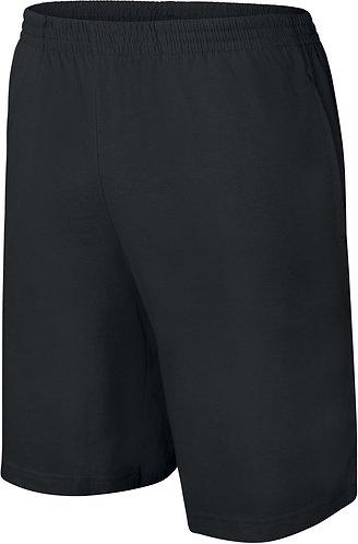 Kids Jersey Sports Shorts Black