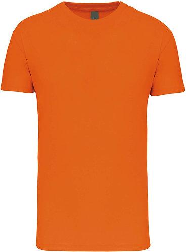 Kids Crew Neck T-shirt Orange