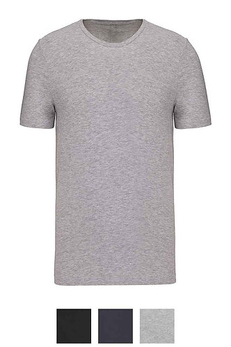 Men Short Sleeved Crew Neck T-Shirt