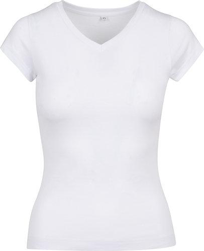 Women Basic Tee White