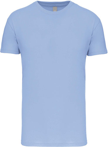 Kids Crew Neck T-shirt Sky Blue
